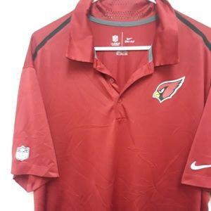 NFL Arizona Cardinal's Men's Shirt and Bottle Cool